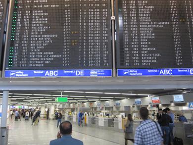 probleme frankfurter flughafen