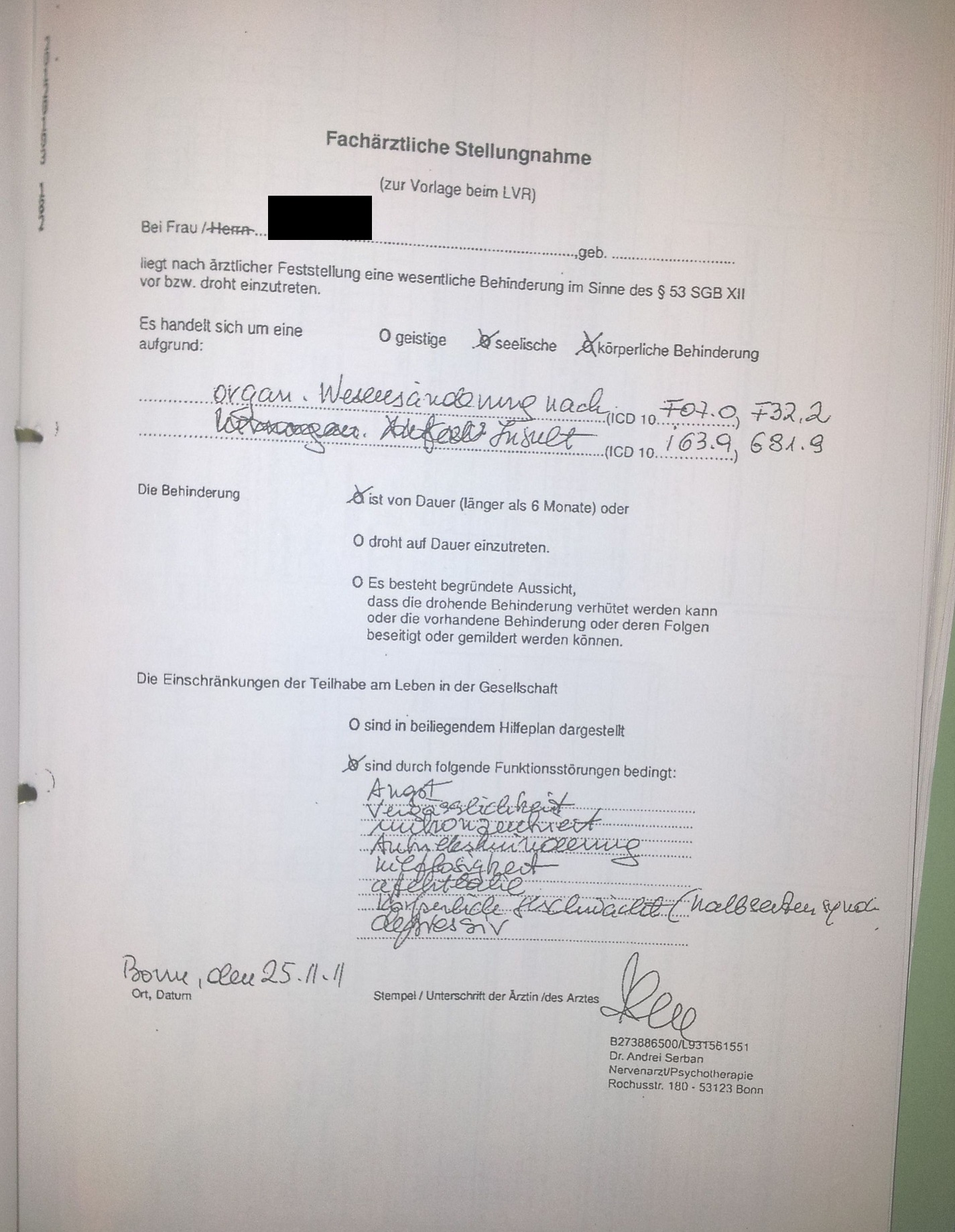 Familie Schlaganfall Papa-Tochter